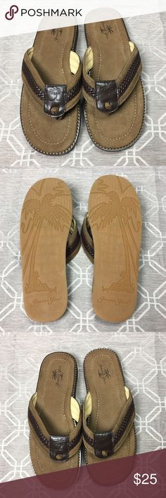 Jamaica Jazz Flip Flop Sandals Jamaica Jaxx Flip Flop Sandals  Color: Brown/Tan Size: XL/12 Worn: Never Conditions: Brand NEW  Sorry, no original box Jamaica Jaxx Shoes Sandals & Flip-Flops