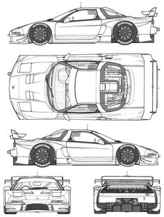 Trendy Ideas For Cars Drawing Honda Honda Nsx R, Soichiro Honda, Automobile, Acura Nsx, Car Illustration, Illustrations, Car Design Sketch, Japan Cars, Car Posters
