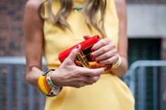 Anna Dello Russo Street look  of #Fashion Week