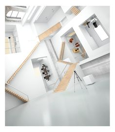 3D Escher building by subaqua on deviantART