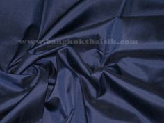 Dark Blue 100 Silk Dupioni Fabric Dress Costume Craft   eBay