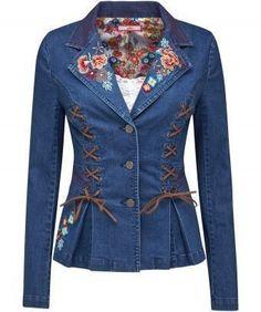 Denim Fashion, Leather Fashion, Look Fashion, Womens Fashion, Jackets For Women, Clothes For Women, Ladies Jackets, Mode Jeans, Denim Ideas