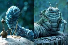 'Alice in Wonderland' Caterpillar early concept art