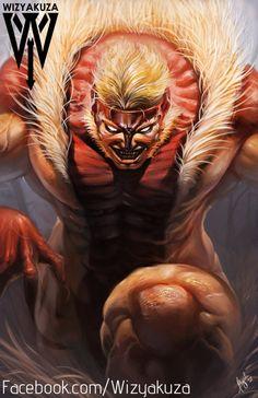 Sabretooth  X-Men  Marvel Comics  11 x 17 Digital by Wizyakuza