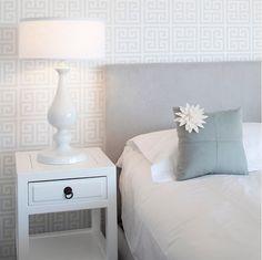 papel de parede com texturas geometricas para quarto de casal