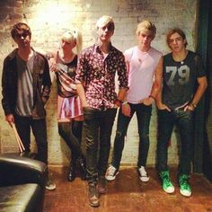 Pics: R5 Tour Stop In Dallas October 26, 2013---I was there... Right in front of Riker