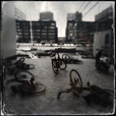 Harde wind Amsterdam