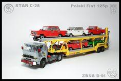 Star C-28 w. ZBNS D-91 trailer by Karwik http://flic.kr/p/nW7EG9