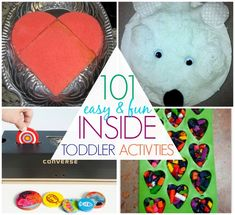 101 things to do with toddlers indoors - C.R.A.F.T. #indooractivities #kidscrafts