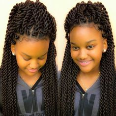 Chunky twists for the tweens!