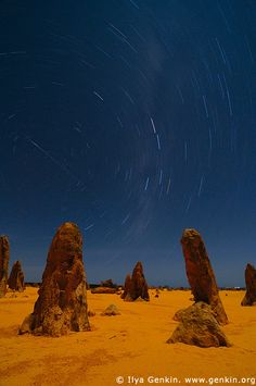 amazing place,amazing photography by genkin.org The Pinnacles Desert, Nambung National Park, Western Australia, Australia