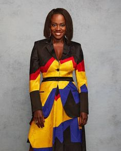 """VIOLA DAVIS on Instagram: """"2021 Independent Spirit Awards 💛 • • • Dress by @jonathan.anderson for @loewe Earrings by @misho_designs Ring by @vramjewelry Styled by…"""" Viola Davis, Carolina Do Sul, Spirit Awards, Red Carpet Looks, Peplum Dress, Hair Cuts, People, Fashion Design, Outfits"""