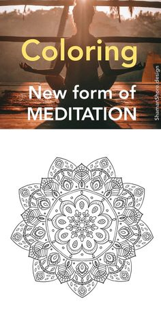 #ShShPrintables Mandala coloring pages for grown ups   Printable mandala coloring book for adults on Etsy   anti-stress coloring pages download