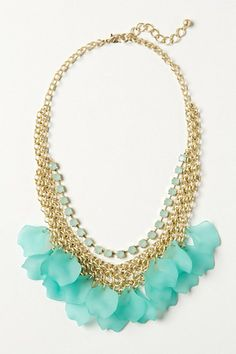 Frosted Lily Necklace - Anthropologie.com