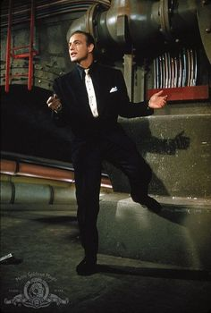 Marlon Brando in Guys and Dolls, 1955
