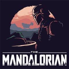 The Mandalorian - Illustration on Behance Star Citizen, Star Wars Poster, Star Wars Art, Star Wars Episode 2, Game Wallpaper Iphone, Spiderman Art, Star Wars Tattoo, Graphic Artwork, Star War 3