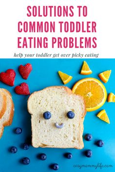 Toddler Eating Habits: Challenges And Solutions.  Are mealtimes beginning to feel like endless power struggles? Toddler eating habits are different from the infant stage, ranging from picky eating to not eating at all. Don't worry, you are not alone. Try these tips and set your toddler on the healthy eating path. Say goodbye to control wars at the dinner table. #toddlereatingproblems #pickyeatertips #pickyeater #toddlerfeedingproblems