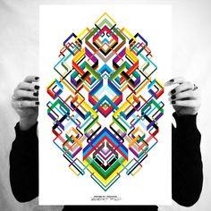 MWM NEWS BLOG: Vectorfunk Rorschach Posters.
