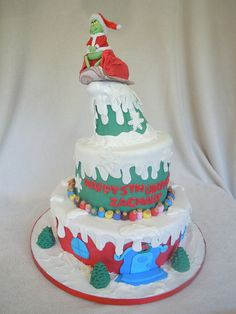 Grinch-yes my daughter wants the Grinch for her birthday party