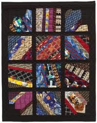 how to make a necktie quilt - Google Search