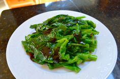 Chinese Broccoli with Oyster Sauce #MerryMonday