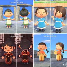 Animal Crossing Guide, Animal Crossing Qr Codes Clothes, Animal Games, My Animal, Avatar Animals, Kleidung Design, Motifs Animal, Avatar The Last Airbender, New Leaf