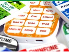 OwnFone is designed for kids: it's simple, easy to use, indestructible and has the option of a braille keypad!