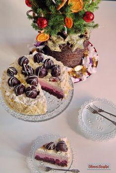 Bibimoni Receptjei: Rumos meggyes gesztenyetorta Panna Cotta, Cukor, Table Decorations, Ethnic Recipes, Blog, Center Pieces