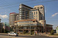 """Бизнес-центр """"Бородино Плаза"""" и отель """"Бородино"""""""