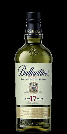 Discover Ballantines 17 Year Old Blended Whisky at Flaviar Blended Whisky, Spiritus, Scotch Whiskey, Bourbon, Vodka Bottle, Girlfriends, Irish, Bottles, Posters
