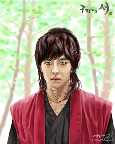 Gu Family Book Fan Art: Choi Kang Chi the Beast-dol Lee Seung Gi, Lee Jong Suk, Korean Picture, Big Bang Top, Gu Family Books, Choi Jin Hyuk, Handsome Korean Actors, Jung Yong Hwa, Fanart