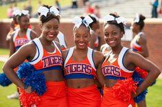 Savannah state university cheerleaders