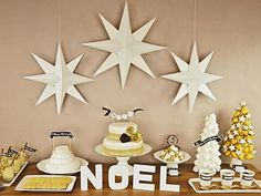 Turn basic card stock into a stunningly affordable holiday star decoration with this easy DIY project.