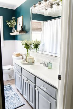 Bathroom tub tile diy how to paint 24 Ideas for 2019 Painting A Sink, Painting Shower, Sink Countertop, White Countertops, Countertop Makeover, Modern Bathroom, Small Bathroom, Bathroom Ideas, Bathroom Makeovers