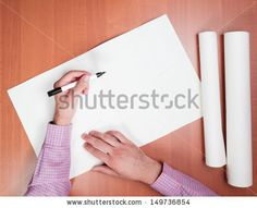 White Drawing Paper Image Stock Photos, Images, & Pictures   Shutterstock