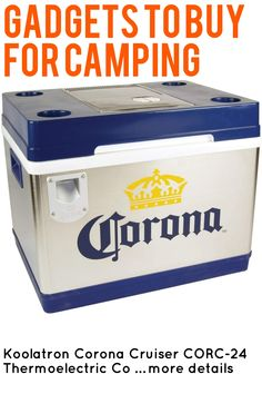 Koolatron Corona Cruiser CORC-24 Thermoelectric Cooler … (This is an affiliate link) #campingkitchen