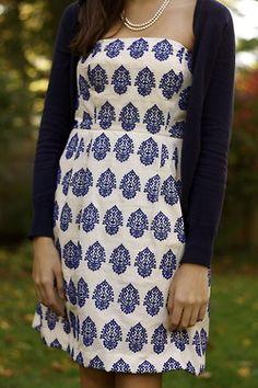 Pretty dress with cardigan