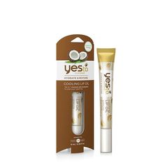 Yes to Coconut Cooling Lip Oil Keep your pucker hydrated and cool with this nourishing lip oil rich in antioxidants. ($4.99, Yestocarrots.com)
