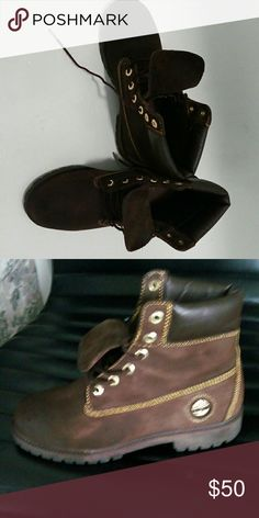 Timberlands Timberland for guy in good conditions only been used 5 times Timberland Shoes Ankle Boots & Booties