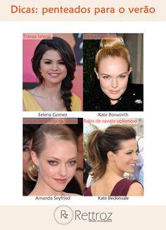 O clima esquentou e você quer prender os cabelos de uma forma atual e descolada? Veja as dicas da Rettroz!