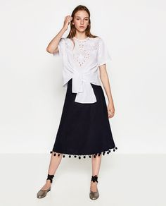 WRAP SKIRT-View all-SKIRTS-WOMAN | ZARA United States