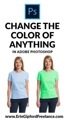 In this Adobe Photoshop Video Tutorial I will show you two techniques to use when you want to change the color of something in your photo. #adobephotoshoptutorial #howtochangecolorinphotoshop #graphicdesign #freedesigntutorials
