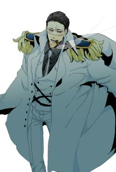 One Piece, Sir Crocodile Manga Anime One Piece, One Piece Fanart, Handsome Anime Guys, Hot Anime Guys, Sir Crocodile, Retro Fan, Slash, Illustrations, Kawaii Anime