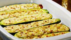Vegetarisch gefüllte Zucchini - BRIGITTE
