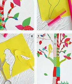 DIY : un sticker en forme d'arbre!