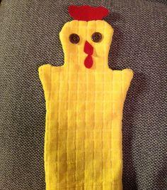 Kana Käsinukke pääsiäinen koriste päiväkoti askartelu