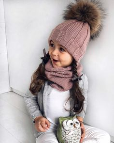 Best 12 – Page 378091331215958654 – SkillOfKing.Com Cable Knit Hat, Knit Cowl, Knit Beanie, Knitting For Kids, Baby Knitting, Crochet Baby, Knitted Blankets, Knitted Hats, Winter Outfits