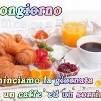 Buongiorno, cominciamo la giornata con un caffè ed un sorriso