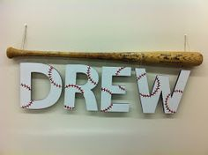 Scraptopia Sports Room Decor Baseball