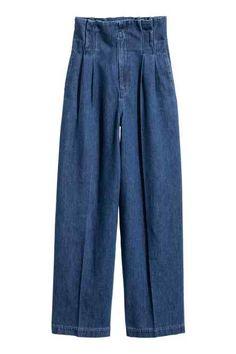 H&M Paper bag jeans